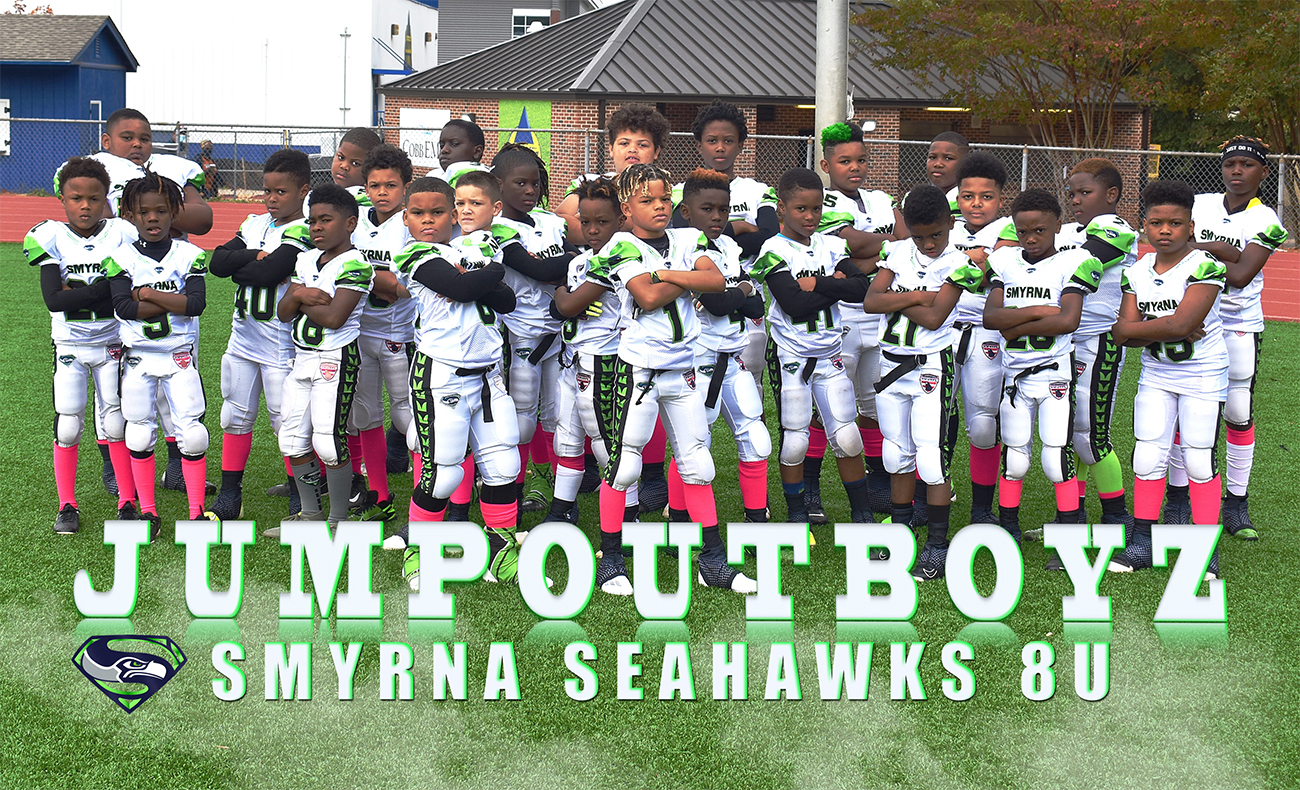 Congratulations to our 2020 8U Smyrna Seahawks